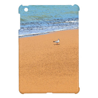 SEAGULL ON BEACH QUEENSLAND AUSTRALIA COVER FOR THE iPad MINI