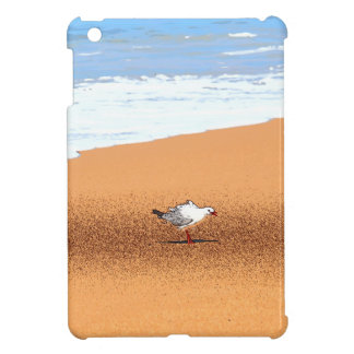 SEAGULL ON BEACH QUEENSLAND AUSTRALIA iPad MINI CASE