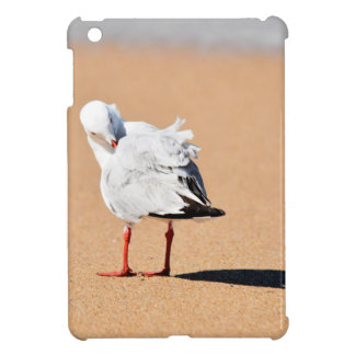 SEAGULL ON BEACH QUEENSLAND AUSTRALIA iPad MINI COVER