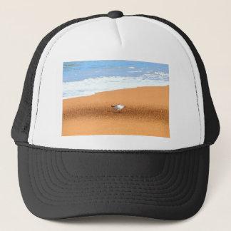 SEAGULL ON BEACH QUEENSLAND AUSTRALIA TRUCKER HAT