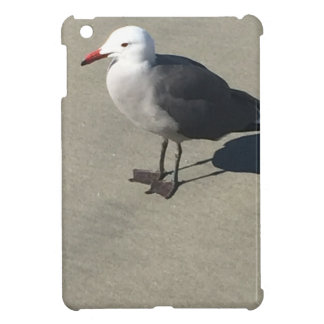 Seagull on Sandy Beach Cover For The iPad Mini