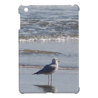 Seagull On The Beach at low tide on east coast iPad Mini Cover