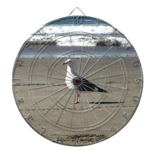 Seagull on the Beach Dartboard