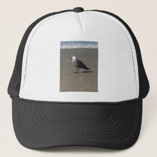 Seagull on the Beach Trucker Hat