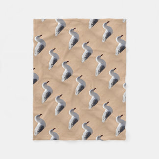 SEAGULL QUEENSLAND AUSTRALIA FLEECE BLANKET