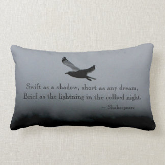 Seagull Quote Pillow