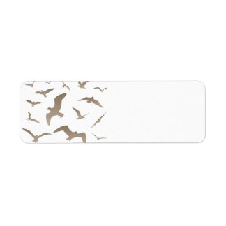 Seagull Return Address Label