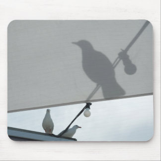 Seagull shadows mouse pad