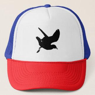 Seagull Silhouette Trucker Hat