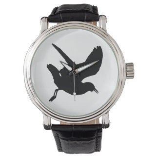 Seagull Silhouette Watch