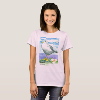Seagull State Bird of Utah T-Shirt