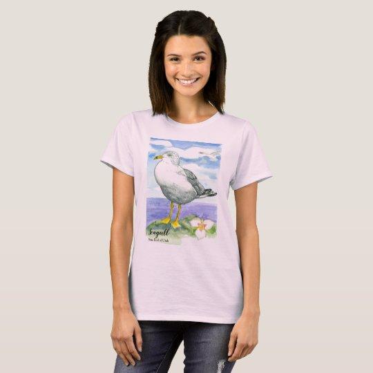 Seagull State Bird of Utah T-Shirt