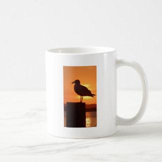 Seagull Sunset Coffee Mug
