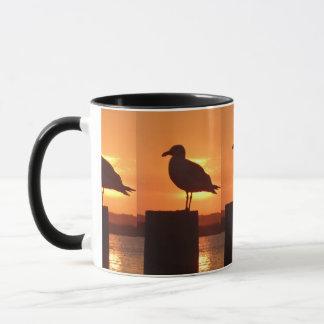 Seagull Sunset Mug