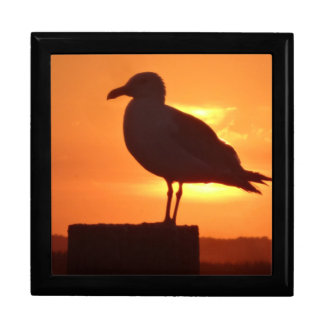 Seagull Sunset Trinket Box