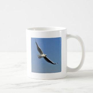 Seagulls are beautiful birds coffee mug
