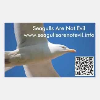 Seagulls Are Not Evil #1 Sticker