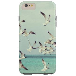 Seagulls at a Beautiful Beach Tough iPhone 6 Plus Case