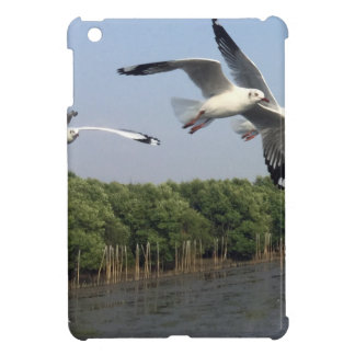 Seagulls at the beach iPad mini cover
