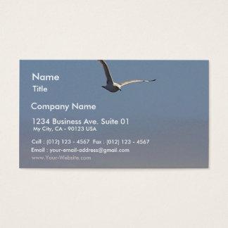 Seagulls Clouds Sky Business Card