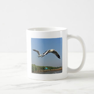 Seagulls in Flight Coffee Mug