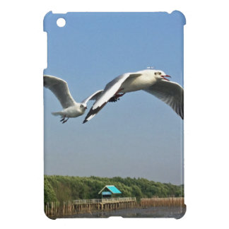 Seagulls in Flight Cover For The iPad Mini