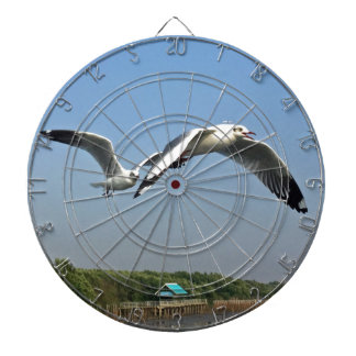 Seagulls in Flight Dartboard