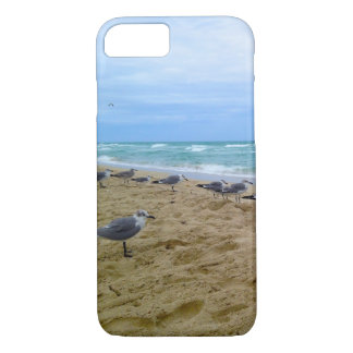 Seagulls on the Beach iPhone Cover