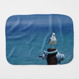 Seagulls Paradise At Mackinac Burp Cloth