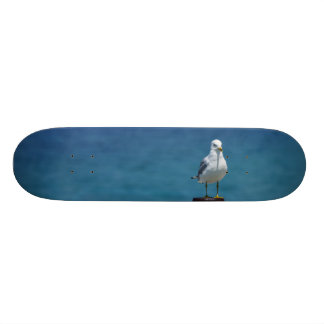 Seagulls Paradise At Mackinac Custom Skateboard
