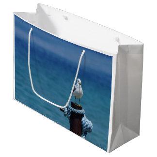 Seagulls Paradise At Mackinac Large Gift Bag