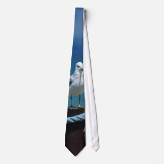 Seagulls Paradise At Mackinac Tie