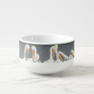 Seagulls Soup Bowl with Handle