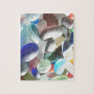 Seaham Sea Glass Selection 1 Puzzle