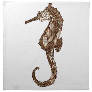 Seahorse 3 napkin