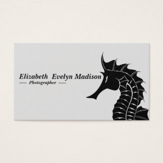 seahorse 567 business card