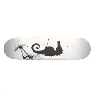 Seahorse and Seaweed #1 Skate Deck