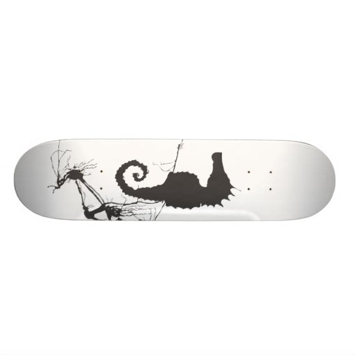 Seahorse and Seaweed #1 Skateboards