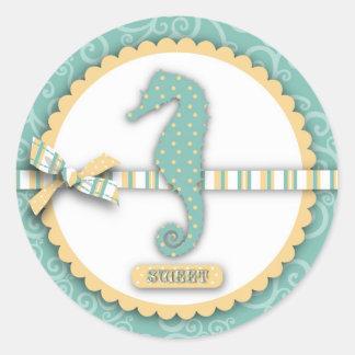 Seahorse Baby Sticker