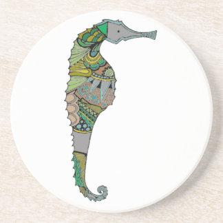 Seahorse Beverage Coaster