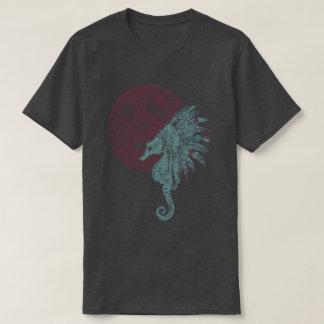 seahorse blood moon T-Shirt