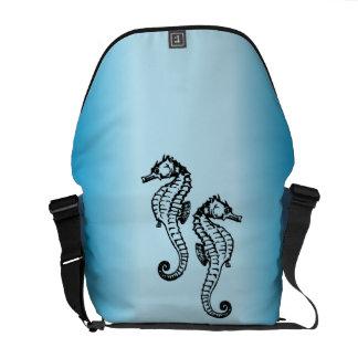 Seahorse Blue Commuter Bags