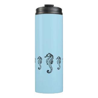 Seahorse Blue Thermal Tumbler