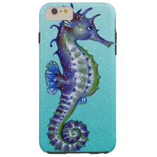 Seahorse Blue Tough iPhone 6 Plus Case