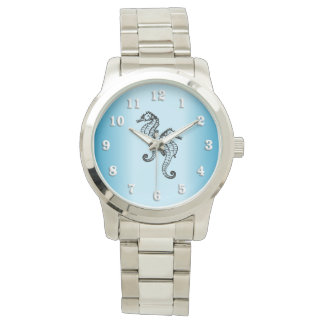 Seahorse Blue Watch