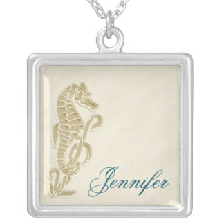 Seahorse Bridal Party Gift Necklace