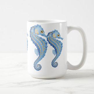 Seahorse coffee mug