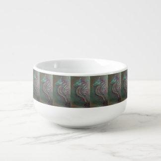 seahorse dragon soup mug