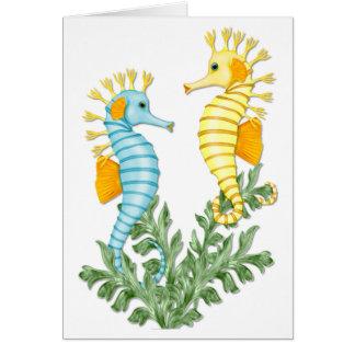 Seahorse Fantasy Card
