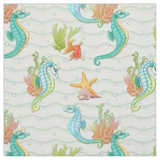 Seahorse Fantasy Fabric